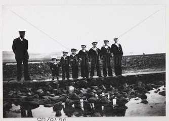 Line of Sea Cadets  c 1900.