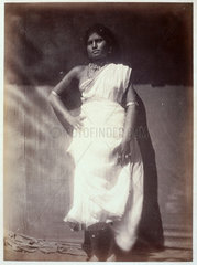 Ceylonese woman  c 1875-1878.
