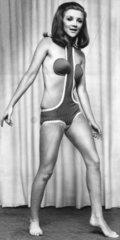 Model wearing 'Concord bikini'  30 January 1967.