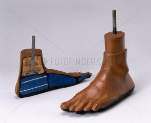 Jaipur artificial foot  1981.