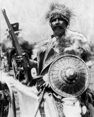 Abyssinian chieftain  19 October 1935.