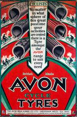 'Avon cycle tyres'  c 1930s.