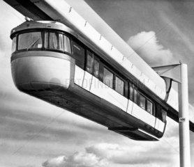 Monorail  January 1966.