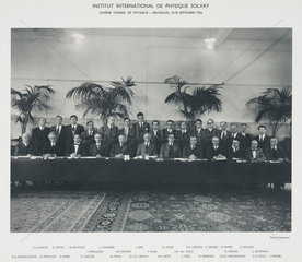 Tenth Solvay Physics Conference  Brussels  1954.