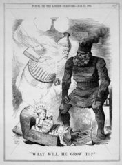 'What will he grow to?'  25 June 1881. Plat
