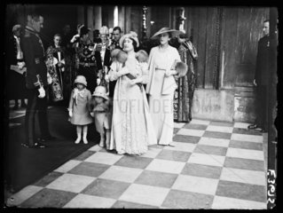 Jubilee celebrations at St Paul's Cathedral  London  6 May 1935.