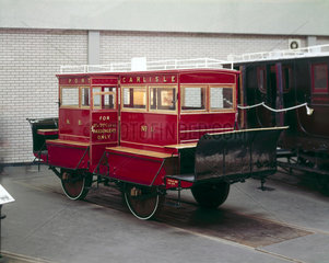 NBR horse-drawn Dandy Cart no 1  1861.