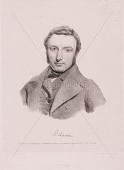 Richard Quain  Irish surgeon  c 1850.