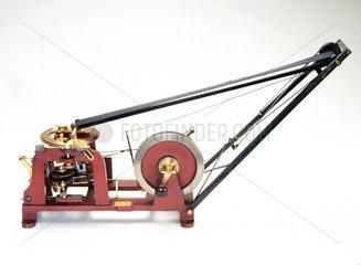 Caldwell automatic microtome  1884.