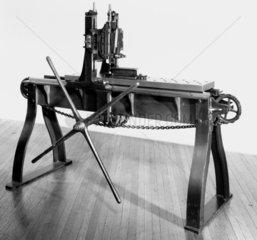 Roberts' planing machine for metals.