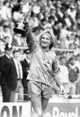 Rod Stewart at Wembley  May 1988.