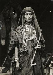 Bedouin woman  Jericho  c 1935.