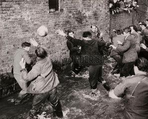 'Shrovetide Football at Ashbourne'  26 February 1952.