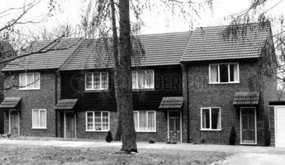 Two-bedroomed houses  Ipswich  Suffolk  May 1985.