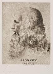 Leonardo da Vinci  Italian artist and inventor  c 1500.
