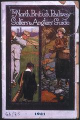'North British Railway Golfers' & Anglers' Guide'  1921.