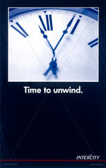 'Time to Unwind'  BR poster  c 1990s.