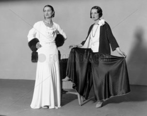 'Six costumes in two' at the Ideal Home