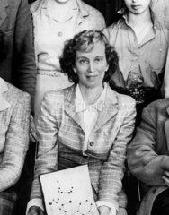 Professor Dorothy Mary Hodgkin  c 1940s.