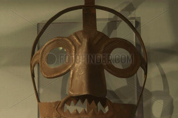 Scold's bridle  probably German  c 1700.