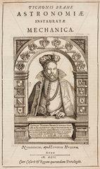 Tycho Brahe  Danish astronomer  1586.