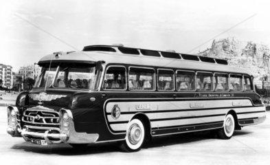 Leyland bus  Spain  c 1950s.