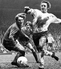 Dave Mackay scores an own-goal  March 1971.