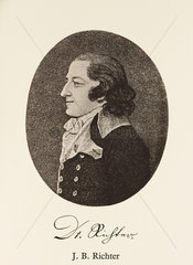 Jeremias Benjamin Richter  German chemist  late 18th century.