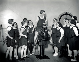 Women in a gymnasium  Imperial Chemical Industries Ltd  29 April 1931.