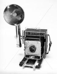 Mpp 5X4 press camera  c 1955.