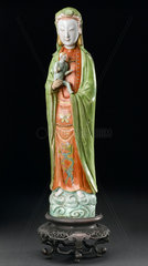 Chinese goddess of maternity.