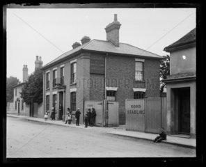 'Napier Arms Public House'  c 1900.