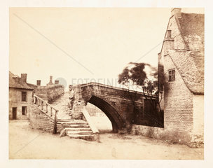 'Crowland: The Triangular Bridge'  1859.