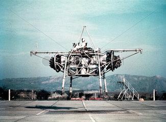 Rolls-Royce Thrust Measuring Rig (TMR) XK426 at Hucknall  c 1955.