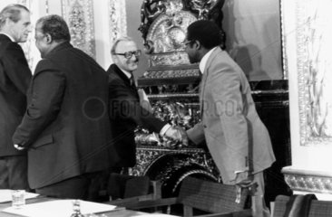 Conference on the independence of Rhodesia  London  December 1979.