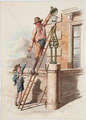 'Lamp lighter'  1808.