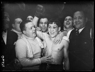 Eric Boon  British boxer  1938.