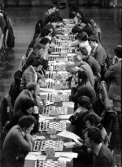 Chess competition  Blackpool  17 April 1978.