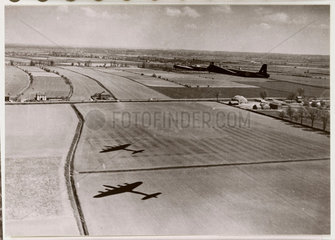 Short Stirling bombers  c 1945.