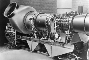 First marine gas turbine  1947.