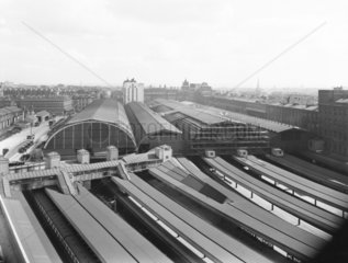 Paddington Station  London  1934.