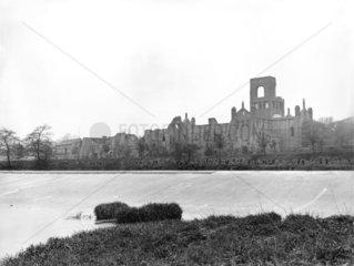 Kirkstall Abbey  Leeds  c 1900.