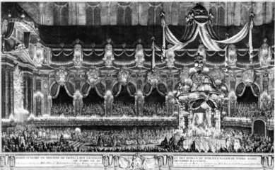 Funeral of King Philip V of Spain  1746.