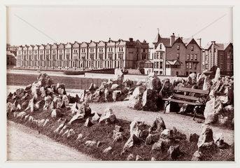 'Paignton  Adelphi Terrace'  c 1880.