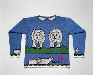 Jumper produced with wool taken from Dolly the sheep  1998.