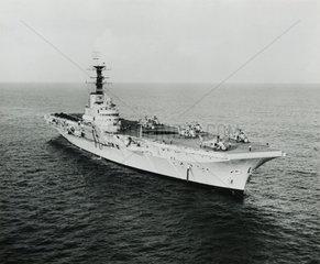 HMS 'Bulwark'  aircraft carrier  1948.