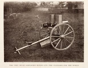 The Simplified Maxim gun.