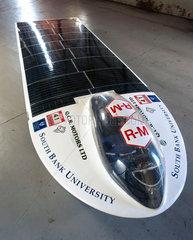 'Mad Dog II' solar powered car  1998.