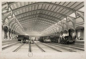 Bristol station  1845