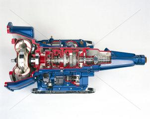 Borg-Warner motor car automatic transmission system  c 1960.